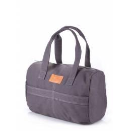 Коттоновая сумка POOLPARTY Sidewalk Grey