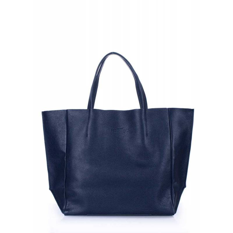 Кожаная сумка POOLPARTY Soho Darkblue