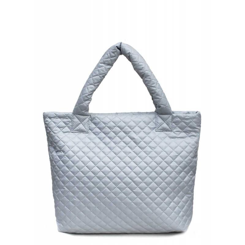 Женская стеганая сумка PP1 Eco Grey