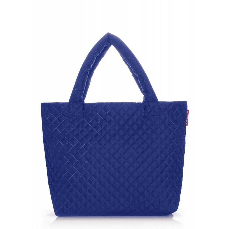 Стеганая сумка POOLPARTY pp1 Eco Brightblue