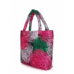 Дутая сумка POOLPARTY с принтом pp4 Nest