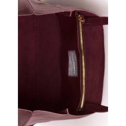 Кожаная сумка POOLPARTY Soho Marsala