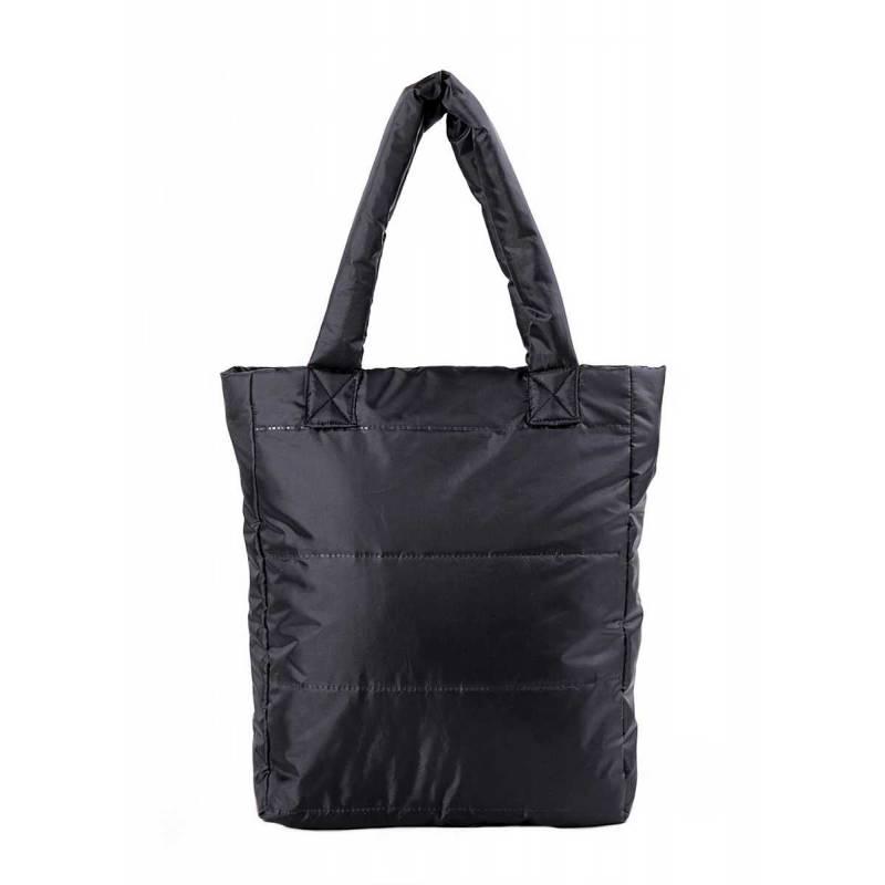 Женская дутая стеганая сумка Ns3 Black