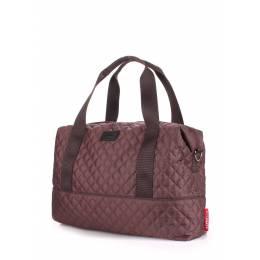 Стеганая сумка POOLPARTY Swag Brown