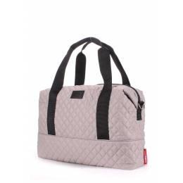 Стеганая сумка POOLPARTY Swag Grey