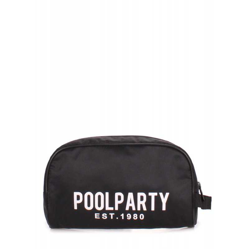 Косметичка POOLPARTY Travelcase Black