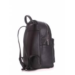 Женский кожаный рюкзак POOLPARTY XS Bckpck Leather Black